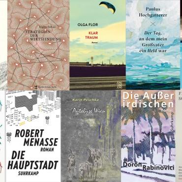 Longlist Österreichischer Buchpreis und Debütpreis